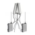 CT-3077-HGA Anti-Drone UAV Jammer 7 Bands 178W up to 3000m